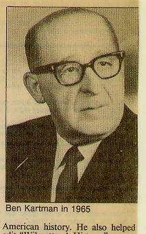 Benjamin Kartman (1901-1991) oral history