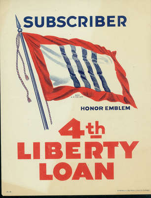 Fourth Liberty Loan poster