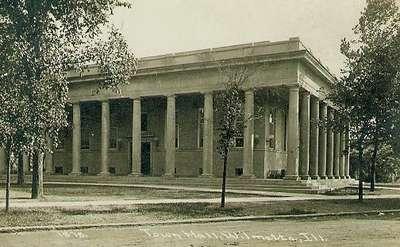 Wilmette Village Hall 1910-1975