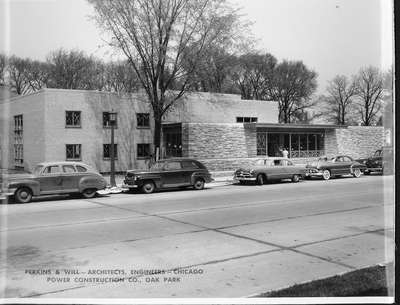 Wilmette Public Library construction No. 10