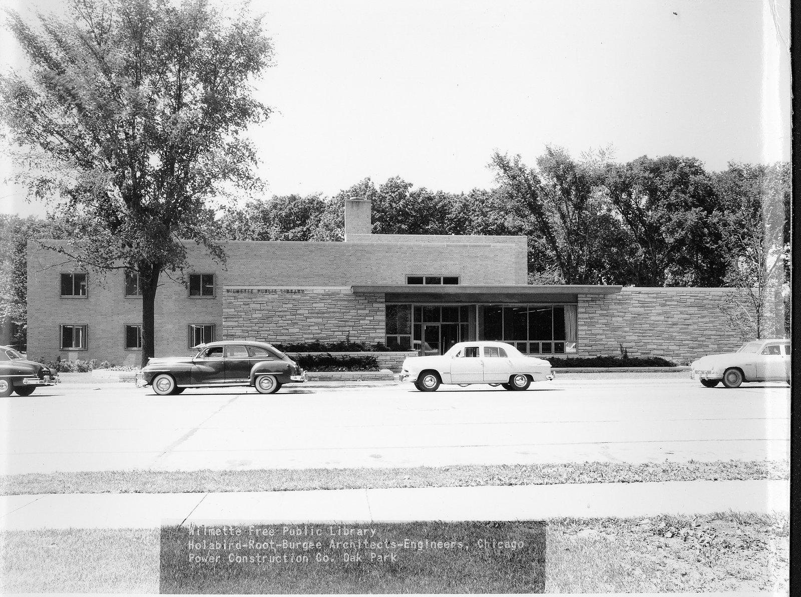Wilmette Public Library construction No. 13