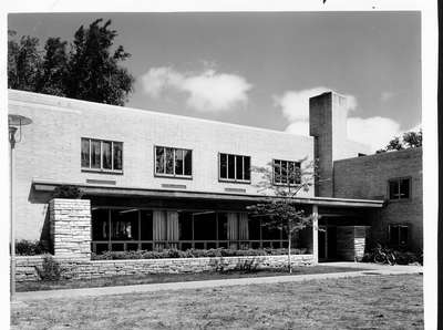 Wilmette Public Library construction No. 15