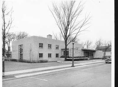 Wilmette Public Library construction No. 17