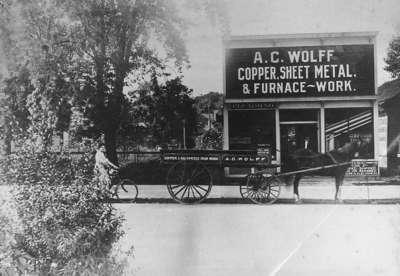 A. C. Wolff Copper, Sheet Metal & Furnace-Work