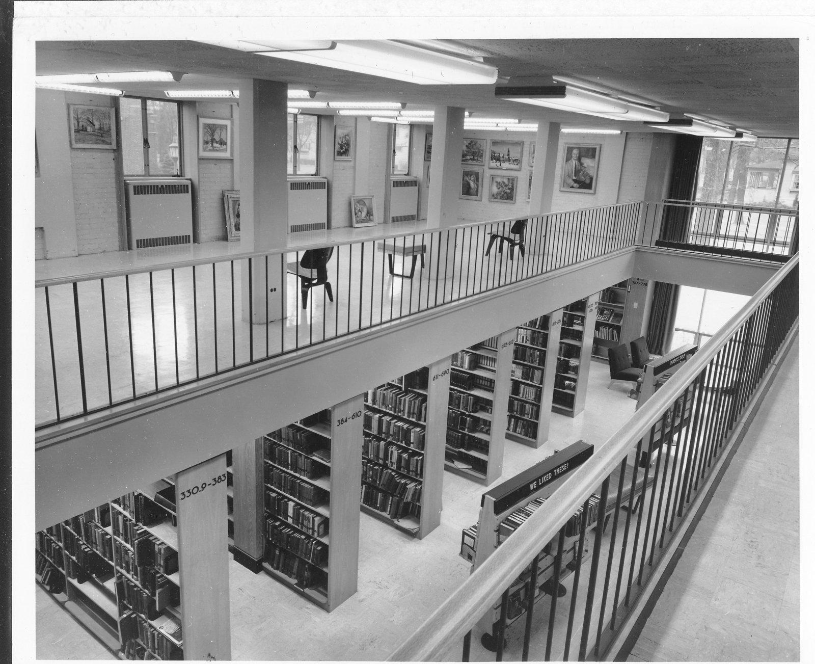 Wilmette Public Library Mezzanine No.40