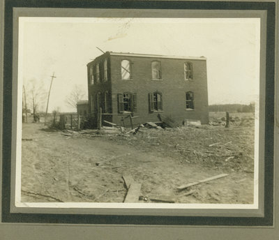 View of Wilmette after the Palm Sunday Tornado on March 28, 1920, No.11