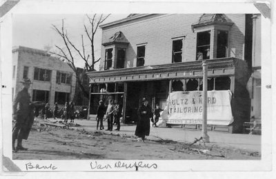 View of Wilmette after the Palm Sunday Tornado on March 28, 1920, No.12