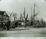 View of Wilmette after the Palm Sunday Tornado on March 28, 1920, No.2
