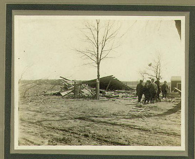 View of Wilmette after the Palm Sunday Tornado on March 28, 1920, No.8