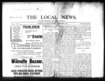 Local News, 1 Sep 1898