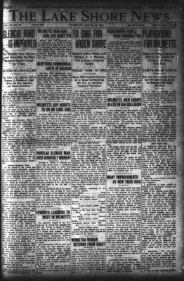 Lake Shore News (Wilmette, Illinois), 22 Aug 1912