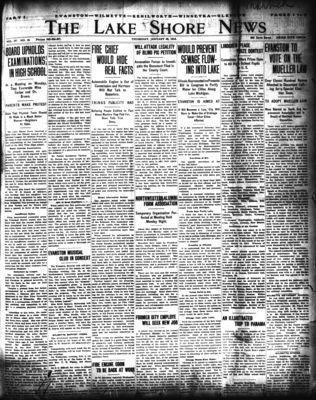 Lake Shore News (Wilmette, Illinois), 30 Jan 1913
