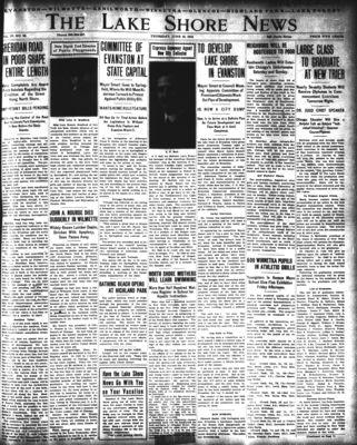 Lake Shore News (Wilmette, Illinois), 19 Jun 1913