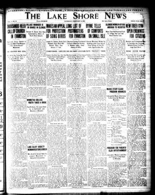 Lake Shore News (Wilmette, Illinois), 5 Feb 1914
