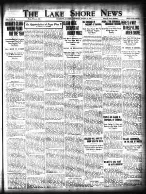 Lake Shore News (Wilmette, Illinois), 27 Aug 1914