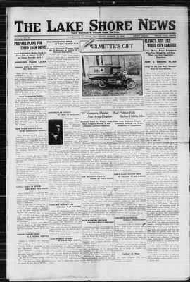 Lake Shore News (Wilmette, Illinois), 14 Mar 1918