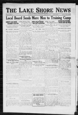 Lake Shore News (Wilmette, Illinois), 28 Mar 1918
