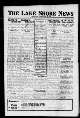 Lake Shore News (Wilmette, Illinois), 19 Sep 1918