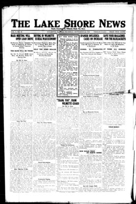 Lake Shore News (Wilmette, Illinois), 26 Sep 1918