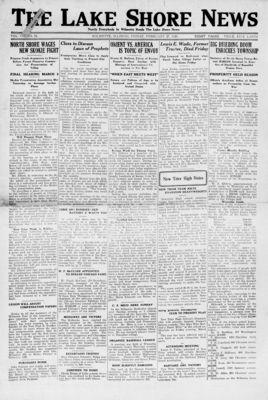 Lake Shore News (Wilmette, Illinois), 27 Feb 1920