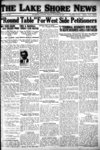 Lake Shore News (Wilmette, Illinois), 21 Oct 1921