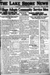 Lake Shore News (Wilmette, Illinois)2 Dec 1921