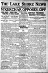 Lake Shore News (Wilmette, Illinois), 6 Apr 1923