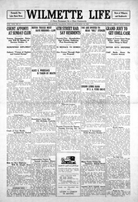 Wilmette Life (Wilmette, Illinois), 12 Oct 1923