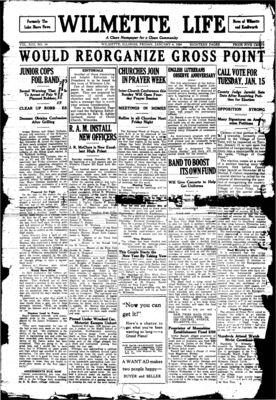 Wilmette Life (Wilmette, Illinois), 4 Jan 1924