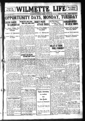 Wilmette Life (Wilmette, Illinois), 25 Jul 1924