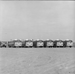 GRAY COACH LINES, bus, at Bus Sales of Canada depot, Newmarket, Ont. (Newmarket             Coach Lines garage)