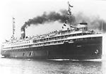 NORONIC, steamer, at Prescott