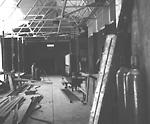 RIVERDALE PARK; ZOO, monkey building, during renovation.
