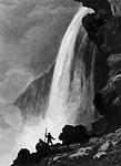 Voute sous la Chute du Niagara (1837?)