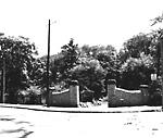 RIVERDALE PARK; ZOO, gates, s.e. cor. Winchester & Sumach Sts.