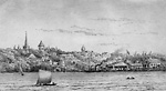 Brockville on the St. Lawrence River (Ontario).