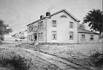 The King's Head Inn from the North-West Burlington Bay (Hamilton, Ontario),              1796?