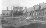 JAIL (1865- ), Gerrard St. E., n. side, betw. St. Matthews Rd. &             Broadview Ave.; looking n. from Munro St.