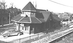 RIVERDALE RAILWAY STATION (C.N.R.), De Grassi St., e. side, n. of Queen St. E.