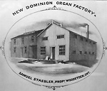 New Dominion Organ Factory (Woodstock, Ontario)