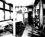 TELEGRAM BUILDING (1900-1963); INTERIOR, waiting room, second (editorial) floor.