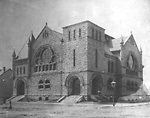 TRINITY METHODIST (UNITED) CHURCH, Bloor St. W., s.w. cor. Robert St.