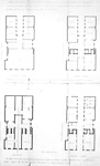 VICTORIA HALL, Melinda St., n. side, e. of Jordan St.; INTERIOR, floor plans.