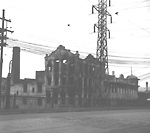 REINHARDT BREWERY COMPANY, Mark St., n. side, w. side of Don Roadway W. (site of             present Bayview Ave.); looking s.w. from Dundas St. E. bridge over Don River.