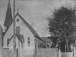 ST. BARTHOLOMEW'S ANGLICAN CHURCH, River St., e. side, s. of Dundas St. E.