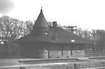DON STATION (C.N.R. & C.P.R.), w. side Don River, s. of Queen St. E.;             looking s.e.