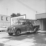 COOKSVILLE FIRE HALL (Township of Toronto Fire Dept.), Dundas St. E., s. side,             e. of Hurontario St.