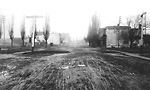 WATER ST., looking n. from s. of Tate St., across C.P.R. tracks & Tate             St. to Eastern Ave. at head of street.