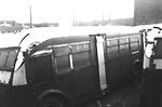 T.T.C., garage, Sherbourne Garage, Sherbourne St., n.w. cor. Esplanade E.;             showing 700 class buses.