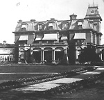 GOVERNMENT HOUSE (1868-1912), looking n.w.